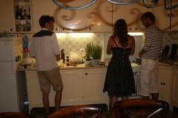 Kjøkkenet i Teracina, fine arbeidsforhold....
